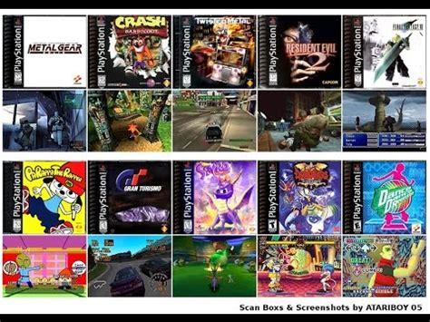 TOP 100 list BEST PS1 GAMES of all time original