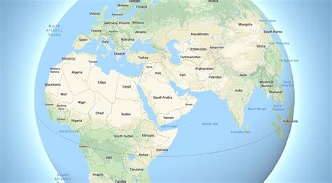 Google Maps dumps its flat view of the Earth for a fully