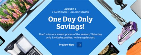 Back-to-School Savings Event at Sam's Club Is Aug