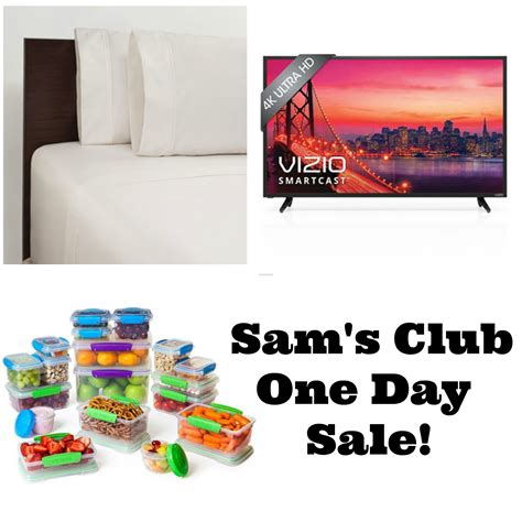 Sam's Club- One Day Sale; Lowest Prices Of The Season!