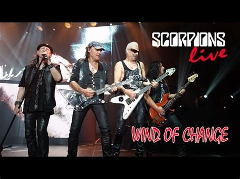Scorpions - Wind of Change - Live performance - YouTube