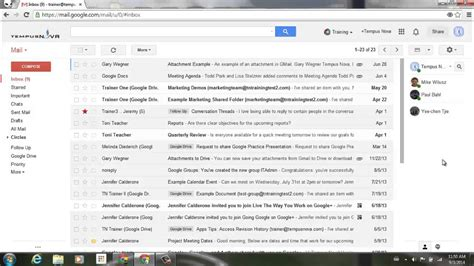 New available contacts tab for Hangouts in Gmail - YouTube