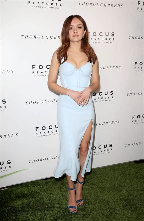 OLIVIA COOKE at Thoroughbreds Special Screening in Los