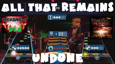 All That Remains - Undone - Rock Band 4 DLC Expert Full