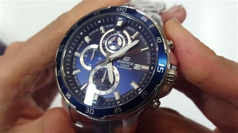 CASIO EDIFICE WATCH EFR-547D-2AVUD UNBOXING - YouTube
