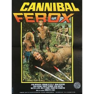 CANNIBAL FEROX Movie Poster - 15x21 in