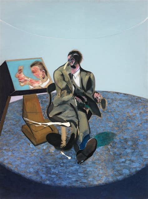 Francis Bacon Read Just as He Painted: Deep, Dark and