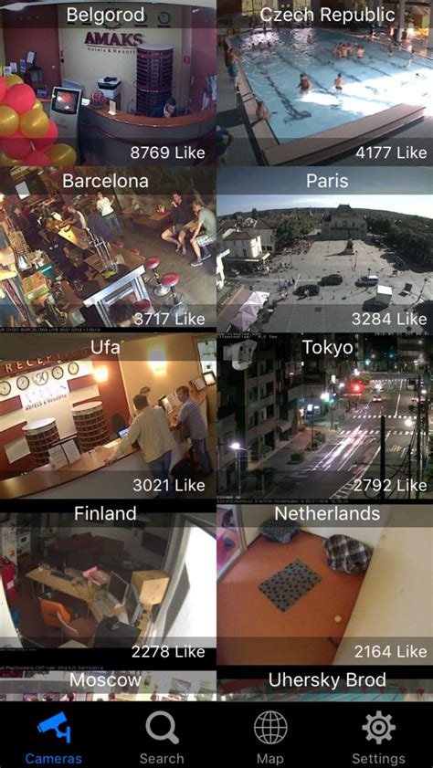 Web Camera Online - Live CCTV IP Video Cams Viewer for