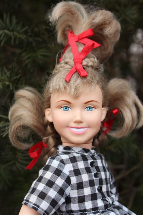 PLANET OF THE DOLLS: Doll-A-Day 313:Cindy Lou Who Plus