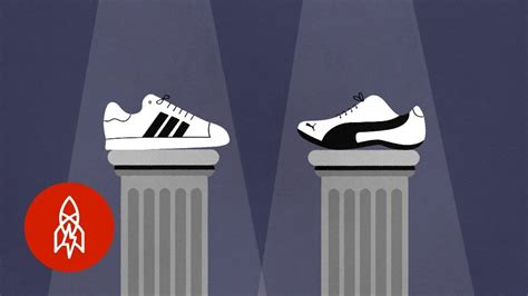 The Sibling Rivalry Behind Adidas Versus Puma - YouTube