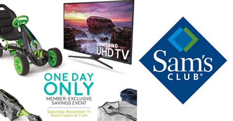 Sam's Club One Day Sale Event - Tons of Great Deals