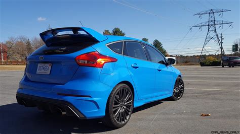 2016 Ford Focus RS - Road Test Review - By Carl Malek