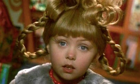 Cindy Lou Who From 'How The Grinch Stole Christmas' Then