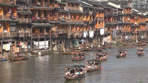 China Tourism - Ancient Fenghuang town - YouTube