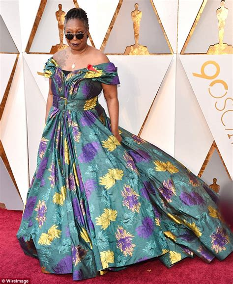 Oscars 2018: Whoopi Goldberg graces red carpet in floral
