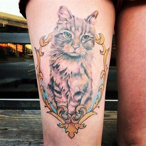 117 Cat Tattoos That Are Way Too Purrfect!