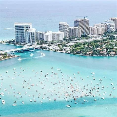 Gorgeous aerial view of Miami Beach by pilot Sonia by