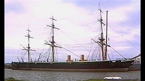 HMS Warrior leaves Hartlepool for Portsmouth - BBC Look