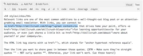 Supercharge your blog or newsletter with HTML tags