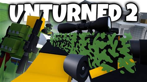 UNTURNED 2: GHILLIE SUITS, AI FIRST LOOK, BACKPACK/ARMOR