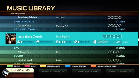 What Songs Are On Rock Band 4? All Songs / Set List Scroll