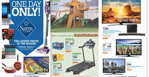 Sam's Club One Day Sale Event on August 6th   Coupons 4 Utah