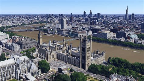 Google maps show off a new 3D version of London | London