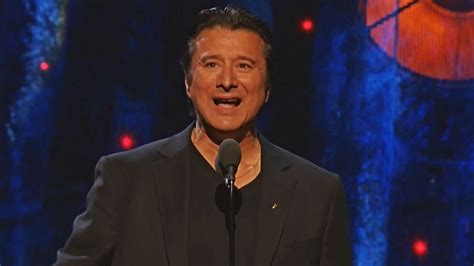 Journey's Steve Perry at Rock & Roll Hall of Fame 2017