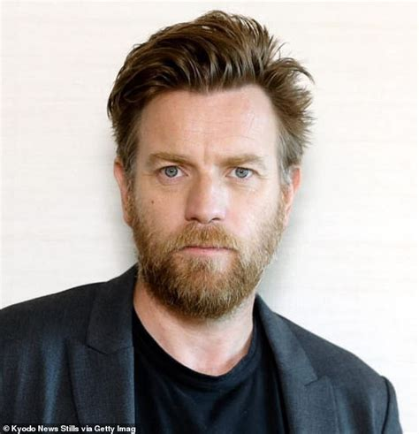 Ewan McGregor has revealed his dressing gown was once