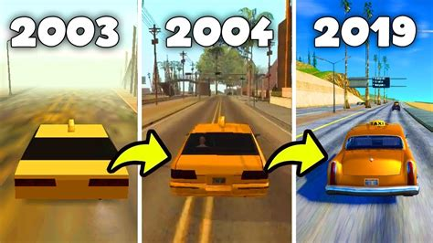 How GTA San Andreas Changed Over The Years 2003-2019 - YouTube