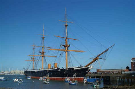 HMS Warrior   South East   Castles, Forts and Battles