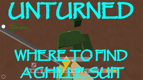 Unturned: Where To Find The Ghillie Suit - YouTube